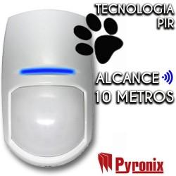Detector cableado Pyronix de interior grado 2 de 10 m y 85º