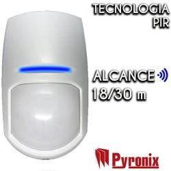 Detector cableado PYRONIX de interior Grado 2 KX18DC