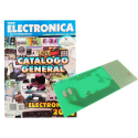 Placa de circuito impreso + Catálogo General Todoelectronica Nº30