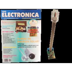 Kit electrónico para montar: Grabador telefónico + Revista Todoelectronica Nº51