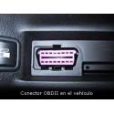 Localizador GPS OBD 'Plug&Play' plataforma web gratis a tiempo real