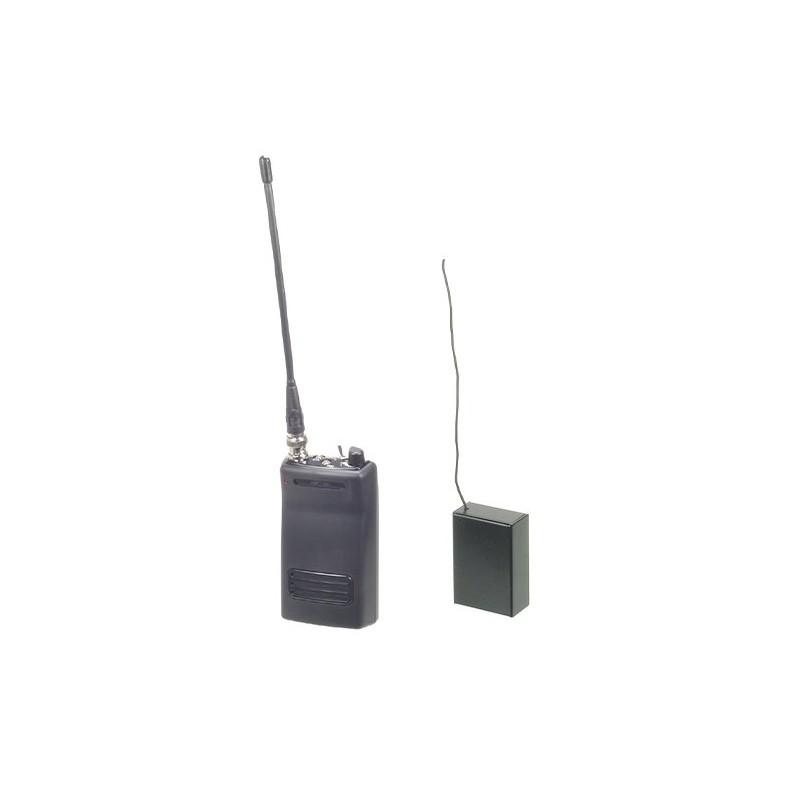 Kit micrófono VHF con receptor y transmisor