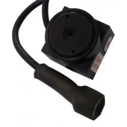 Mini cámara CCTV para integración tipo snake pinhole en blanco y negro