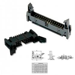 Conector IDC macho - 26 PIN (cable plano) extractor