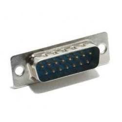 Conector DB15 macho soldar