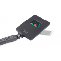Detector no lineal profesional con antena modular de 2400 MHz y analizador de espectro