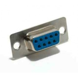 Conector DB9 hembra SUB-D soldable