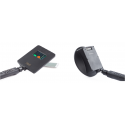 Detector no lineal con antena de 2400 MHz con analizador de espectro y de 3600 MHz