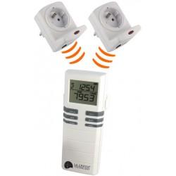Controlador de consumo medidor de electricidad