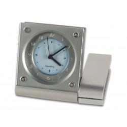 Reloj analógico con función de alarma y retroiluminación EL