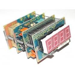 Kit electrónico para montar un tacómetro digital para coche 0-7000 rpm