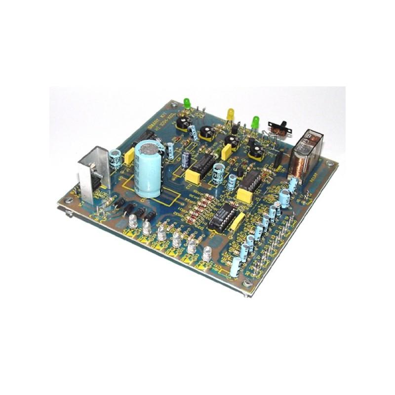Kit electrónico para montar una central antirrobo de Gama Profesional