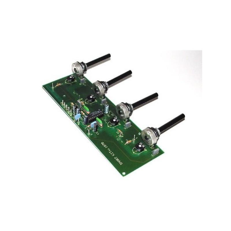 Kit para montar un preamplificador Hi-Fi ideal para mandos a distancia