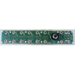 Kit para montar un selector de 6 entradas para preamplificador estéreo