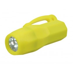 Mini linterna de bolsillo con 3 leds de iluminación y clip de cinturón