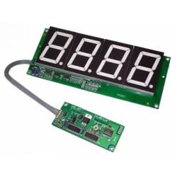 """Cronómetro 1 seg/60 min. Dígitos 4"""""""