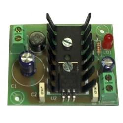 Fuente de alimentación lineal 5V 300mA (fuente + transformador)