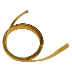 Tira de bronce para contactos 2000 x 5,5 x 025mm
