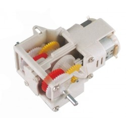 Doble motor reductor en kit con 3 reducciones