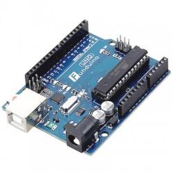 Funduino UNO R3 con cable USB ATmega328 compatible con Arduino