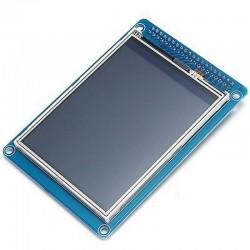 Pantalla táctil TFT320QVT 3,2'' con lector de tarjeta SD para Funduino y Arduino