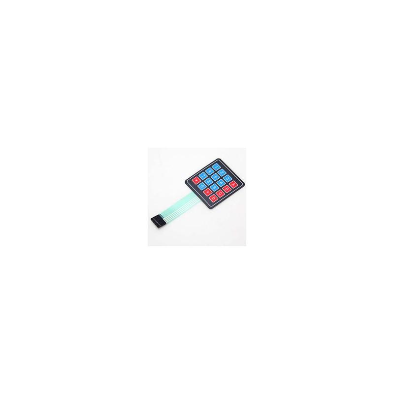 Teclado de membrana 4x4 Matrix para Funduino/Arduino