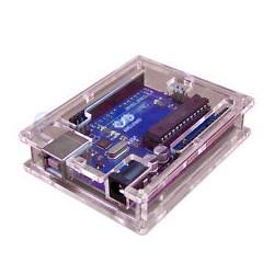 Caja transparente para Funduino/Arduino UNO R3