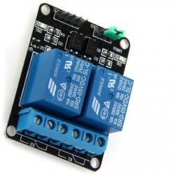 Módulo relé 5VDC de 2 Canales (10A) para Arduino