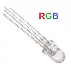 Diodo LED RGB 5mm