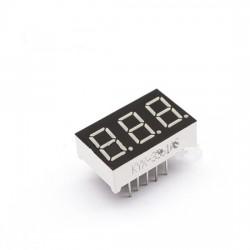 LED display 3x7 seg. Ánodo común 0.36''