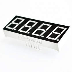 LED display 4x7 seg. Ánodo común 0.56''