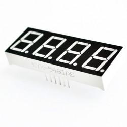 LED display 4x7 seg. Ánodo común 0.56''