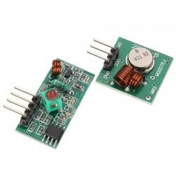 Kit módulo RF Transmisor-Receptor 433MHZ para Arduino