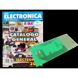 Revista Catálogo Todoelectronica Nº30 + Placa de circuito impreso