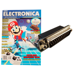 Revista Todoelectronica Nº28 + Kit electrónico PAD para Play Station