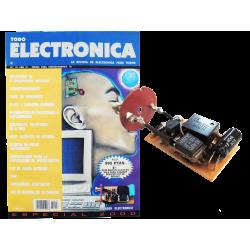 Revista Todoelectronica Nº18 + Kit electrónico Cebador electrónico