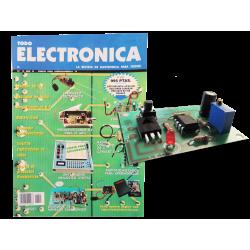 Revista Todoelectronica Nº15 + Kit electrónico Temporizador