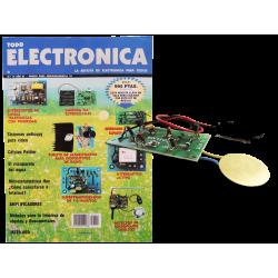 Revista Todoelectronica Nº12 + Kit electrónico Generador ultrasónico espanta-mosquitos