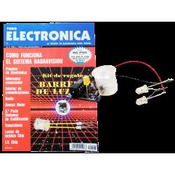 Revista Todoelectronica Nº8 + Kit electrónico Barrera de luz infrarroja 3m