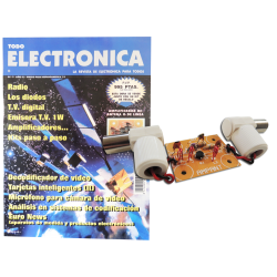 Revista Todoelectronica Nº7 + Kit electrónico Amplificador de antena o de línea