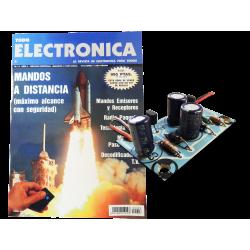 Revista Todoelectronica Nº3 + Kit electrónico LED Flasher