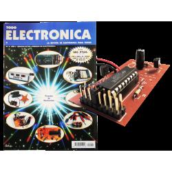 Revista Todoelectronica Nº2 + Kit electrónico Circuito generador de melodías