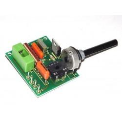 Kit electrónico para montar un regulador de intensidad de luminosidad