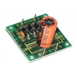 Kit electrónico para montar una fuente de alimentación universal 12V 2A