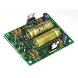 Kit para montar una fuente de alimentación estabilizada 2x12 V a 0,5 A