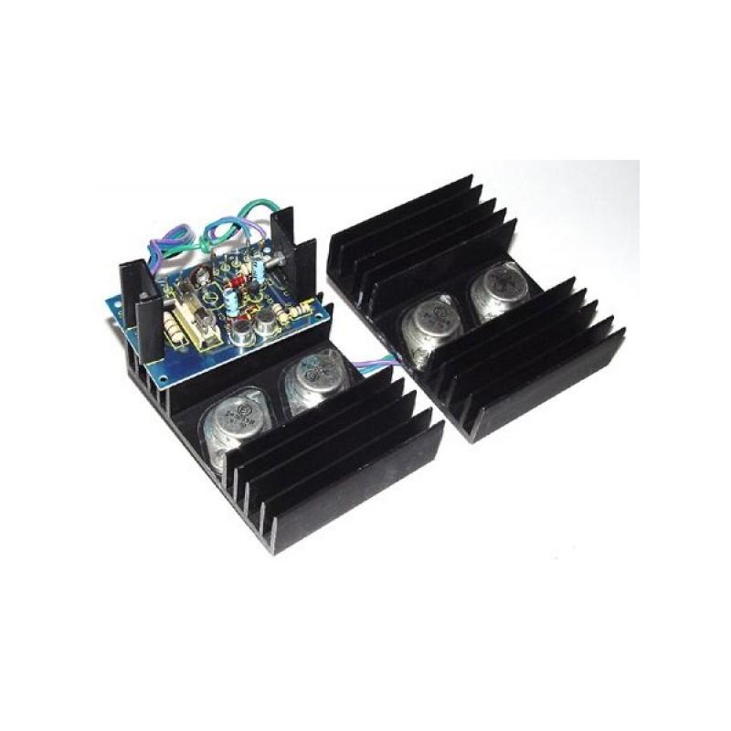 Kit electrónico para montar un convertidor 12V C.C 220V C.A 50 Hz 100W
