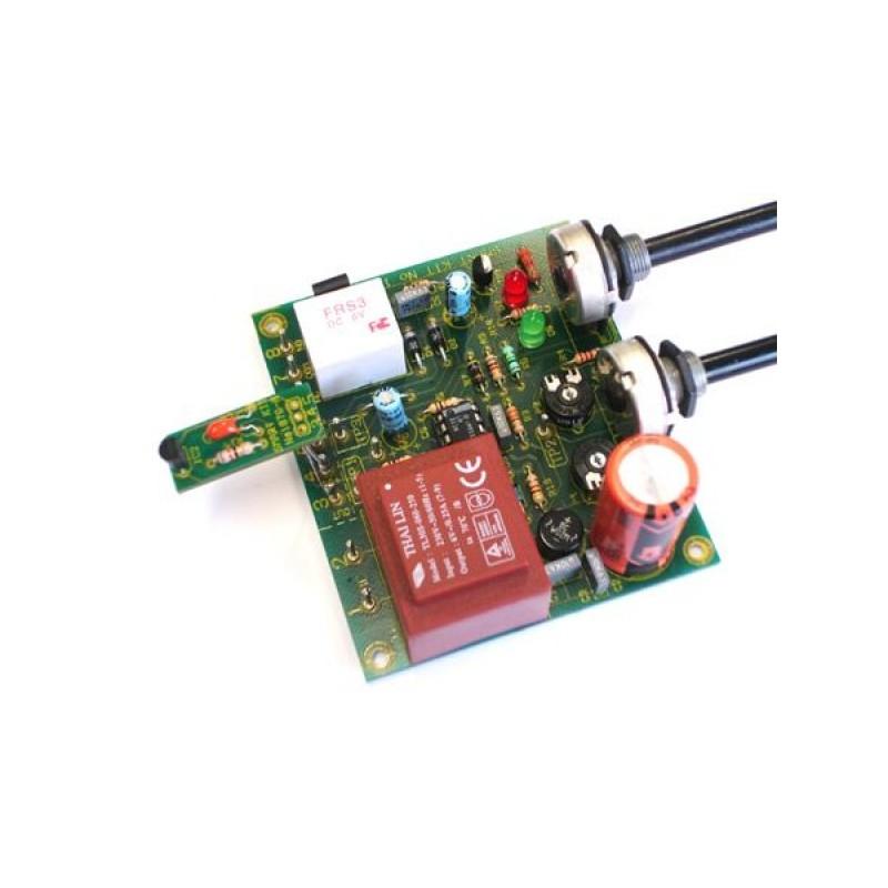 Kit electrónico para montar un interruptor de control de temperatura