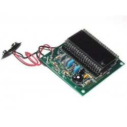 Kit electrónico para montar un voltímetro digital LCD cristal líquido