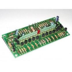 Vúmetro estereo a diodos LED