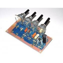 Kit electrónico para montar un preamplificador de micrófono Profesional
